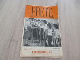 Scoutisme éclaireuses De France Revue Octobre 1954 Prête L'expédition 54 - Scoutisme