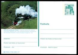 77388) BRD - P 124 - E7/100 - * Ungebraucht - 3094 Bruchhausen-Vilsen, Museumsbahn Dampfzug - [7] West-Duitsland