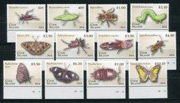 """Cookinseln - Mi.Nr. 1894 / 1905 - """"Gliederfüßer"""" ** / MNH (aus Dem Jahr 2014) - Cook Islands"""