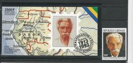 GABON  Scott 769, 770a-771a Yvert 751, C749 ** (1+carnet) Cote 48 $ 1993 - Gabon (1960-...)