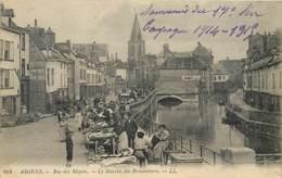 CPA 80 Somme Amiens Rue Des Majots Le Marché Des Brocanteurs - 104 - LL. - Amiens