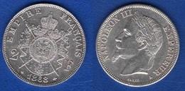 Superbe 1868 A 2 Francs Argent - I. 2 Francs