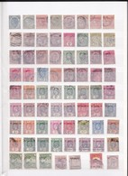 32 Pages De Timbres Anciens Des Colonies Anglaises - Old Stamps Of The English Colonies. - Timbres