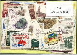 Lot 100 Timbres Afrique Du Sud - Vrac (max 999 Timbres)