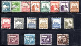 Z1070 - PALESTINA , Diciotto Valori  Usati - Palestine