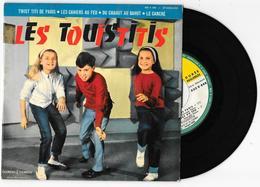 45 Tours LES TOUISTITIS Twist Titi De Paris + 3 Ducretet Thomson 450V 448 1962 - Vinyles