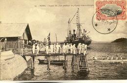 CONGO BELGE -- BOMA -- Aspect Du Port Pendant Les Régates Internationales - Congo - Kinshasa (ex Zaire)