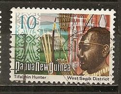 Papouaise-Nouvelle-Guinee        Papua New Guinea 1973 Hunter Obl - Papouasie-Nouvelle-Guinée