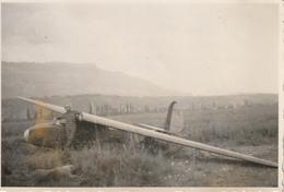 Photo 85 Mm X 57 Mm - 1945 - Avion - Aviation Militaire Planeur - Le Bourget Savoie - Scan R/V - Aviation