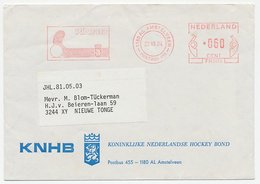 Meter Cover Netherlands 1984 Hockey - Postzegels