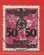 MiNr. 24 O  Deutschland Besetzungsausgaben II. Weltkrieg Generalgouvernement - Besetzungen 1938-45