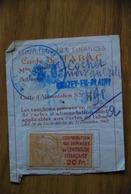 Rationnement - Carte De Tabac Brazey En Plaine Cote D'or - Documents Historiques