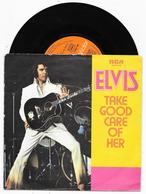 Single 45 Tours ELVIS PRESLEY I've Got A Thing About You Baby + 1 RCA Apbo 0198 1974 - Rock