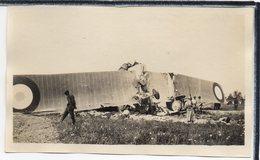 """AVIATION - PHOTO ANCIENNE - AVION  """" BLERIOT """" - CHUTE D'UN BLERIOT  - ANIMATION - Avions"""