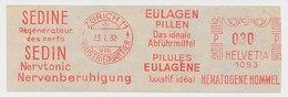 Meter Cut Switzerland 1932 Nerve-calming Tonic - Laxatives Pills - Pharmacy