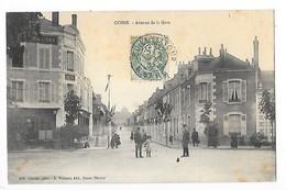 COSNE  (cpa 58)  Avenue De La Gare   -  L  1 - Cosne Cours Sur Loire