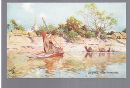 BURMA/ MYANMAR The Irrawaddy Ca 1910 OLD POSTCARD 2 Scans - Myanmar (Burma)