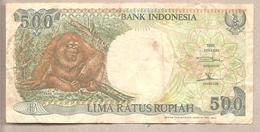 Indonesia - Banconota Circolata Da 500 Rupie P-128b - 1993 - Indonesia