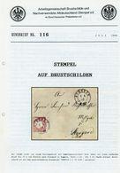 ArGe Brustschilde + Nachverwendete Altdeutschland-Stempel Rundbrief 116 /1995 - Stempel Auf Brustschilden - Germany