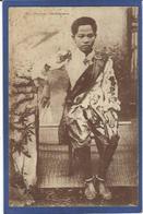 CPA Cambodge Indochine écrite Royalty Royauté Roi Princesse Cambodgienne - Kambodscha