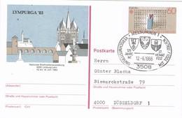 30327. Entero Postal  MELSUNGEN (alemania Federal) 1986. Jumelage TODI. Italia - Cartes Postales Illustrées - Oblitérées