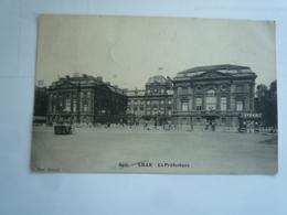 1913  LILLE LA PREFECTURE ED DELSART 6425 CIRCULÉE DOS DIVISE ETAT BON - Lille