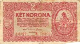 BILLET   AUTRICHE 2 KET KORONA - Austria
