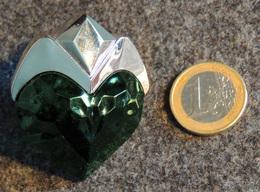 Miniature Parfum - Thierry MUGLER - AURA - L'émeraude En Cœur - - Miniaturas Mujer (en Caja)