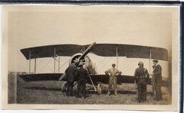 "AVIATION - PHOTO ANCIENNE - AVION  "" MORANE - SAULNIER  "" - AILES BERTRAND   - ANIMATION - Avions"
