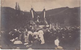 ROMBACH . ROMBAS . CARTE PHOTO . 1909 . TRES ANIMEE . - Autres Communes