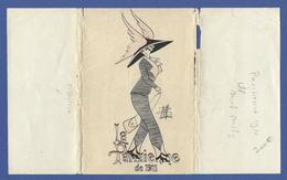 Bill Chapeau Mode Femme Girl Women Non Circulé Glamour GH Série 31 Type Sager Roberty Pochette - Fashion
