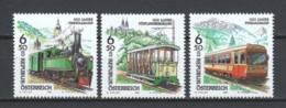 Austria 1998 Mi 2255-2259-2262 MNH TRAINS - Trains