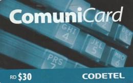 PREPAID PHONE CARD REP.DOMENICANA (CX599 - Dominicana