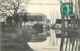 60 - RONQUEROLLES - Moulin De Pont-Roy En 1910 - France
