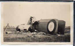 """AVIATION - PHOTO ANCIENNE - AVION """" BLERIOT """" - CHUTE D'UN BLERIOT A 4 MOTEURS - Avions"""