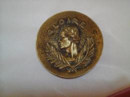 """MAX LE VERRIER ANCIEN VIDE POCHE """" GLOIRE """"  EN BRONZE MODELE TRES PEU COURANT - Bronzes"""