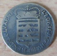 Luxembourg - Monnaie 6 Sols 1790 En Argent - Uniface - Revers Vraisemblablement Volontairement Poli - Luxembourg