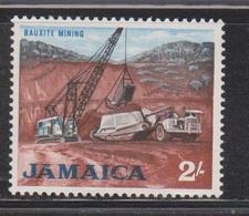 JAMAICA Scott # 228 MH - Bauxite Mining - Jamaica (1962-...)