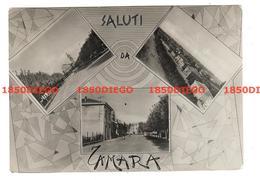 SALUTI DA TAMARA - VEDUTINE F/GRANDE VIAGGIATA 1954 ANIMATA - Ferrara
