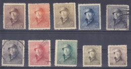 Belgie   Lot             2/25 - 1919-1920 Roi Casqué