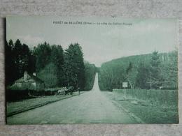 FORET DE BELLEME   LA COTE DU COLLIER ROUGE - France