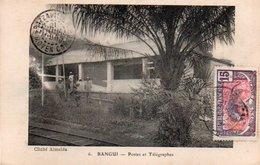 86Va   Bangui Postes Et Telegraphes - Centraal-Afrikaanse Republiek