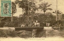 CONGO BELGE -- TEMVO -- Pont De L'A. P. C. Sur La Temvo - Congo - Kinshasa (ex Zaire)