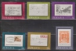 JAMAICA Scott # 334-9 MH - Post Office Tercentenary - Jamaica (1962-...)