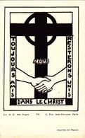 IMAGE PIEUSE RELIGIEUSE Toujours Amis Nous Resterons Unis Dans Le Christ ND Des Anges N° 776 - Devotion Images