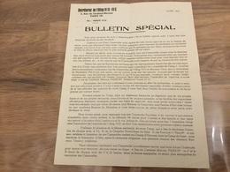 Bulletin Spécial OFLAG VID III C Avril 1945 - 1939-45
