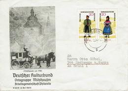 DDR 1964 - Trachten Thüringen - MiNr 1078-1079 - Kostüme