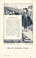 IMAGE PIEUSE RELIGIEUSE SCOUTISME Par Les Chemins Joyeux ND Des Anges N° 486 - Devotion Images