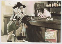 CHIMP AT BAR    PHOTO SCANDECOR N° 2613 - Singes Chimpanzés - Scimmie