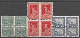 YU 1931-225-7 DEFINITIVE, YUGOSLAVIA, 4 X 3v, MNH - Nuovi